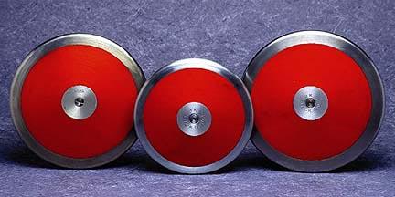 """Super Discus """"Low Spin"""" High School Level 1.6 Kilo Discus"""
