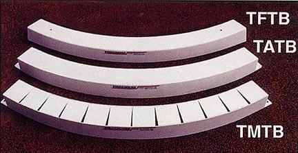 Depressed Cast Aluminum Pad Toe Board