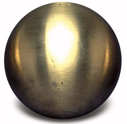 Brass Shot Put - 12 lbs.; 5.44 kilo; 102mm SKH-TB12