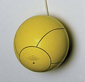 Yellow Rubber Tetherball