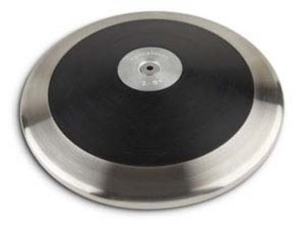 1 Kilo Cantabrian Black Olympia Discus