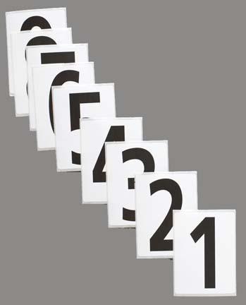 """3 1/2"""" Hip Numbers (Numbers 1 - 9)"""