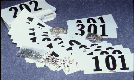 #101 to 200 Competitors Numbers