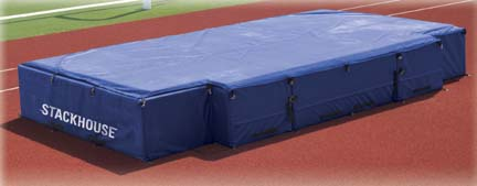 Front Cut-Out All Weather Cover for the International High Jump Landing Pit System