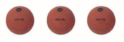 Rubber Javelin Ball - Set of 3