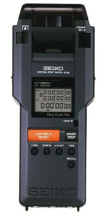 Combined Stopwatch Printer from Seiko