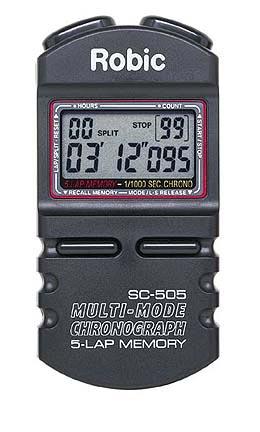 Five Memory Chrono Stopwatch Timer