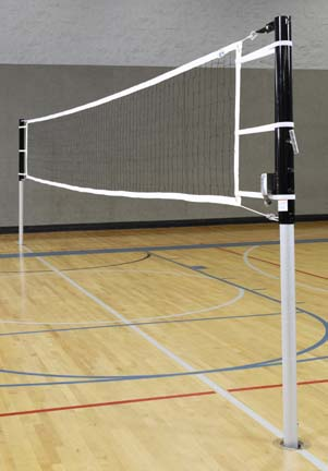 """Game Standards And Net for 3"""" Steel/Aluminum Multi Game System - (One Standard with Winch, One Standard without Win"""