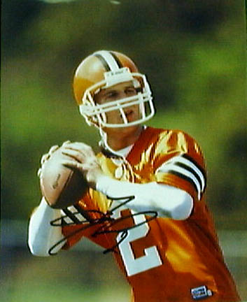 """Tim Couch Autographed 8"""""""" x 10"""""""" Photograph - Unframed"""" SMG-63"""