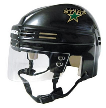 Dallas Stars NHL Authentic Mini Hockey Helmet from Bauer (Black)