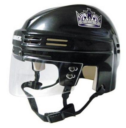 Los Angeles Kings NHL Authentic Mini Hockey Helmet from Bauer (Black)