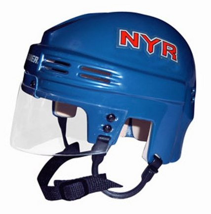 New York Rangers Official NHL Mini Player Helmet SMG-BAHKYMNYR