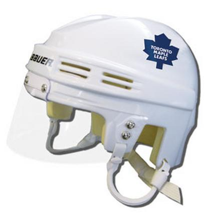 Toronto Maple Leafs Official NHL Mini Player Helmet (White) SMG-BAHKYMTORW