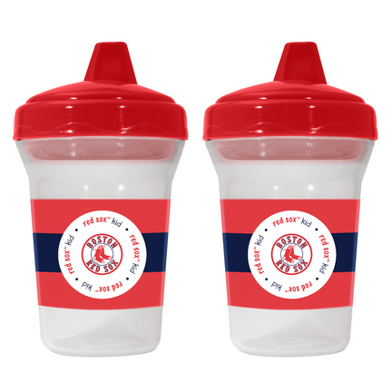 Boston Red Sox Baby Fanatic Sippy Cups (2 Pack) SMG-BFBBBOSS