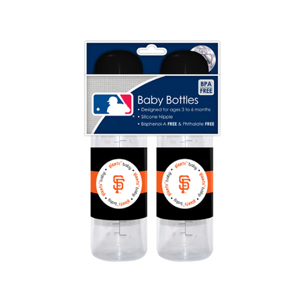 San Francisco Giants Baby Fanatic Baby Bottles (2 Pack) SMG-BFBBSFRB
