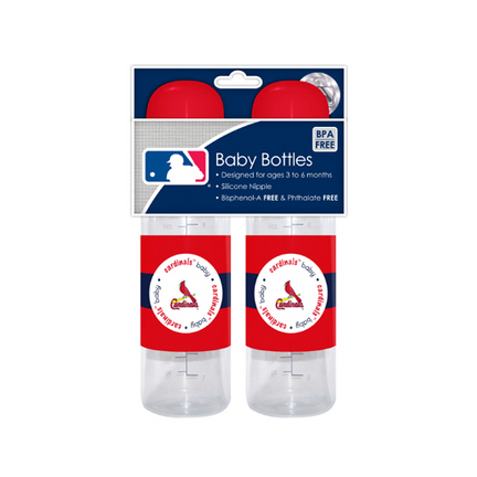 St Louis Cardinals Baby Fanatic Baby Bottles (2 Pack)