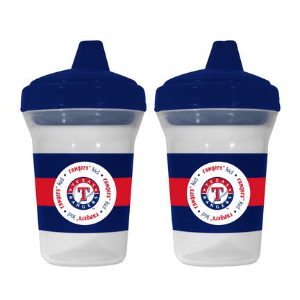 Texas Rangers Baby Fanatic Sippy Cups (2 Pack) SMG-BFBBTEXS