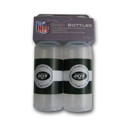 New York Jets Baby Fanatic Baby Bottles (2 Pack) SMG-BFFBNYJB