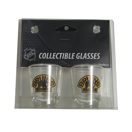 Boston Bruins Boelter Shot Glasses (2 Glasses) SMG-BOHKYBOSSH