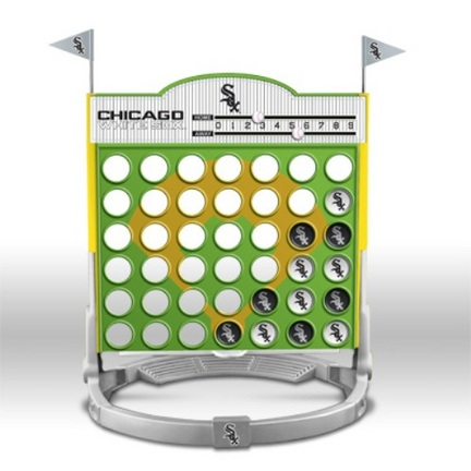 Chicago White Sox Connect Four MLB Game SMG-C4BBCHIW