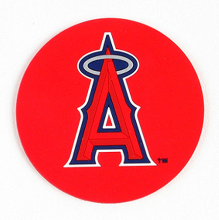 Image of Los Angeles Angels of Anaheim Coasters (Set of 4)
