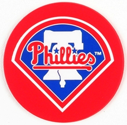 Image of Philadelphia Phillies Coasters (Set of 4)