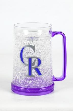 Colorado Rockies 16 oz Plastic Crystal Freezer Mugs - Set of 4 SMG-CMBBCOL