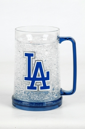 Los Angeles Dodgers 16 oz Plastic Crystal Freezer Mugs - Set of 4 SMG-CMBBLAD