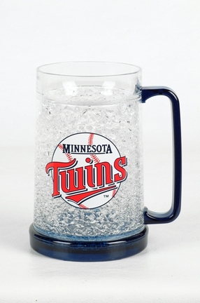 Minnesota Twins 16 oz Plastic Crystal Freezer Mugs - Set of 4 SMG-CMBBMIN