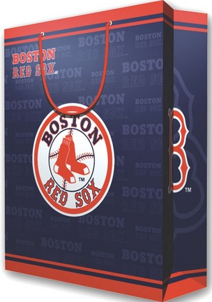 Boston Red Sox Large Gift Bags (2 Pack) SMG-GIFTBBBOSLG