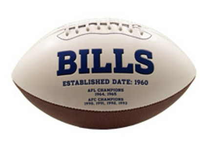 Buffalo Bills Signature Series Full Size Football