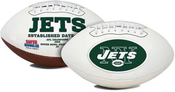 New York Jets Signature Series Full Size Football