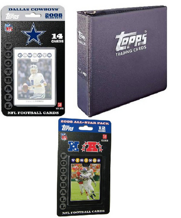 Dallas Cowboys 2007 Topps NFL Team Gift Set