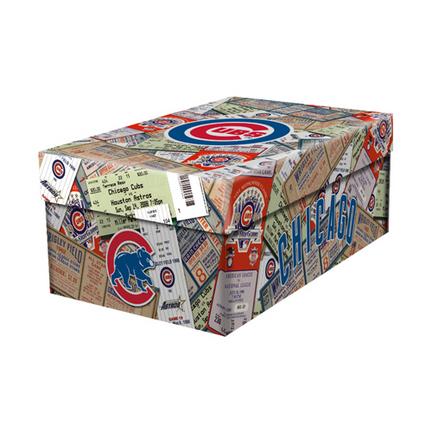 Chicago Cubs Ticket Souvenir Box