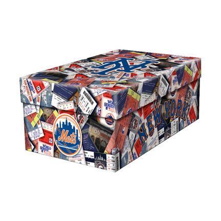 New York Mets Ticket Souvenir Box