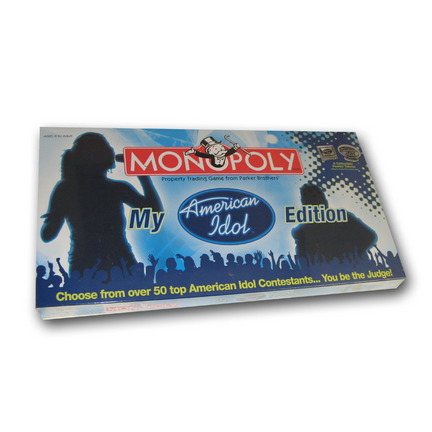 My American Idol Monopoly Collector's Edition