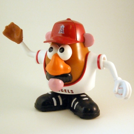 Los Angeles Angels of Anaheim MLB Mr. Potato Head SMG-MRPBBANA