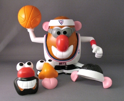 New Jersey Nets Mr. Potato Head