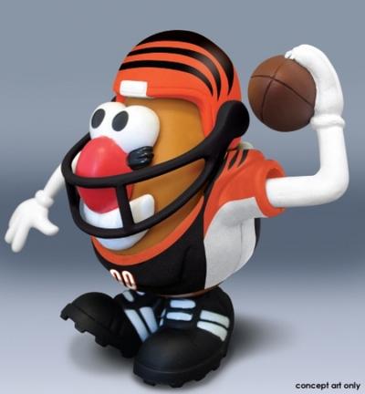 Cincinnati Bengals Mr. Potato Head