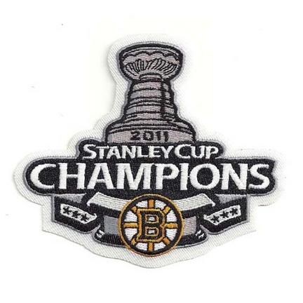 Boston Bruins 2011 Stanley Cup Champions NHL Logo Patch SMG-PATCHHKYBOSSC11