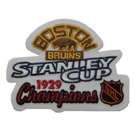Boston Bruins NHL 1929 Stanley Cup Champions Patch SMG-PATCHHKYBOSSC29