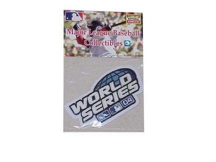 2004 World Series Logo MLB World Series Patch SMG-PATCHWS04