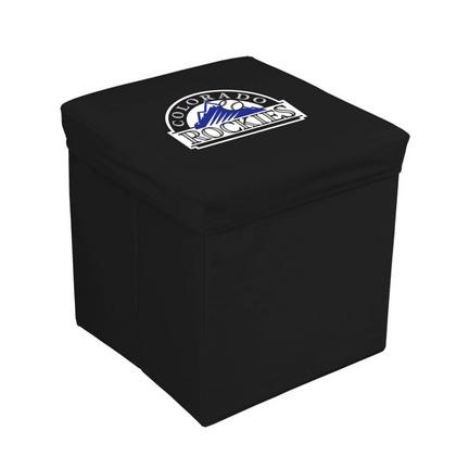"""Colorado Rockies 16"""" Storage Cube"""