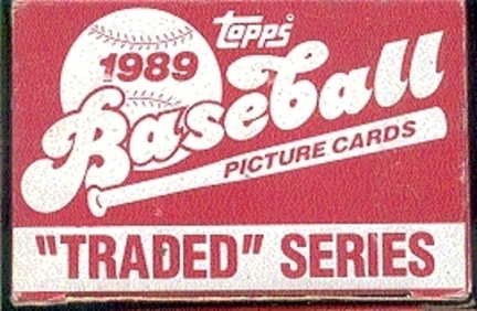 1989 Topps MLB Traded Series