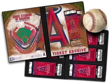 Los Angeles Angels of Anaheim Ticket Album (Holds 96 Tickets)
