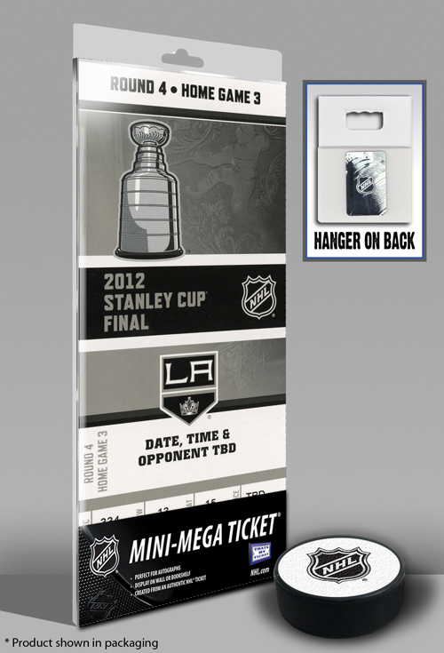 Los Angeles Kings 2012 Stanley Cup Champions Mini-Mega Ticket SMG-SMG-TFMMHKYLAKSC12