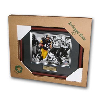 "Troy Polamalu Pittsburgh Steelers 8"" x 10"" Treehugger Framed Photograph"