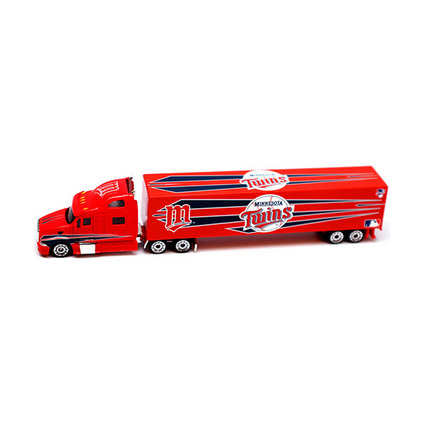 Image of Minnesota Twins 2010 MLB 1:80 Scale Tractor Trailer