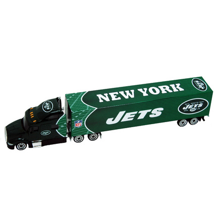 Image of New York Jets 2010 NFL 1:80 Tractor Trailer