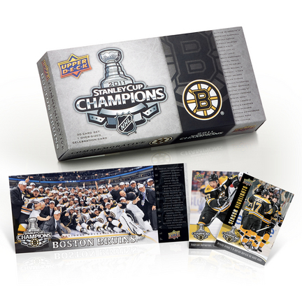 Boston Bruins 2010 - 2011 Upper Deck Stanley Cup Champs Boxed Set SMG-UD101HKYBOSSC